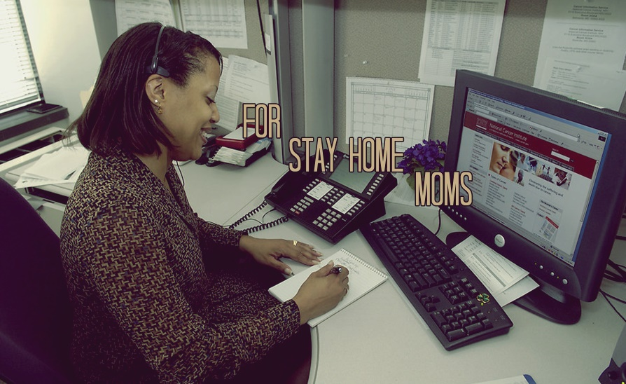 stay home mom job