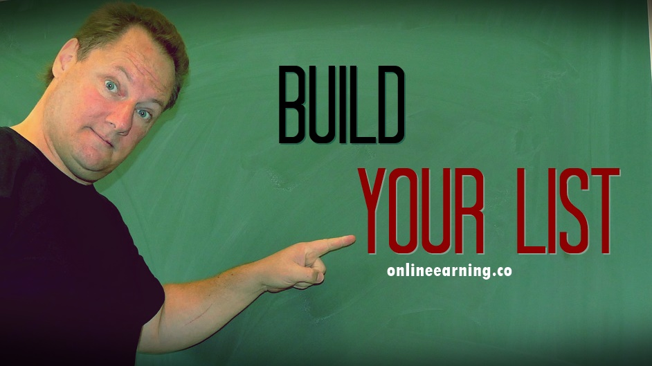 build your list onlineearning.co