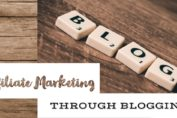 affiliate marketing on blog