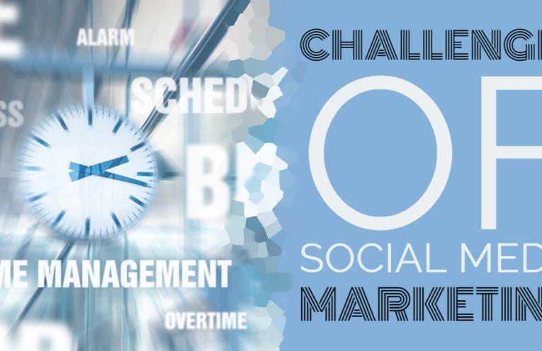 challenges of social media marketing