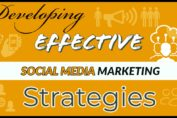 developing effective social media marketing strategies